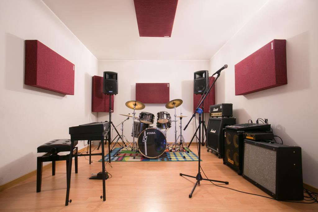 Piccola Sala Prove : Ottava nota sala prove a milano sala 1